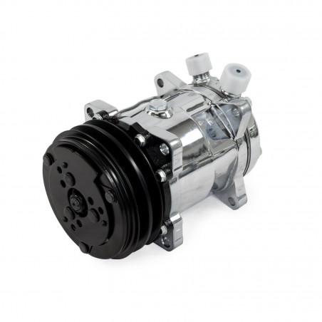 Compresseur de climatisation type SANDEN 508 - Finitio Chrome
