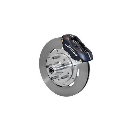 Kit de freins à disques étrier 4 pistons noir Wilwood Dynalite pour Ford Mustang 1965 1966 1967 1968 1969 1970