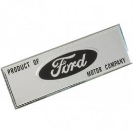 Plaquette Ford - Ford Mustang de 1967 à 1973