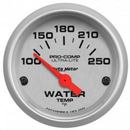Jauge de température d'eau blanche Auto Meter