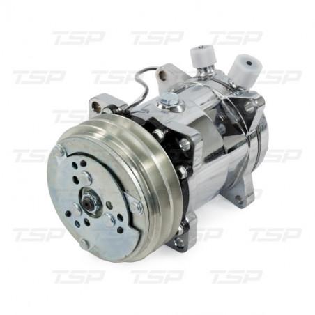 Compresseur de climatisation R134A chrome - Universel