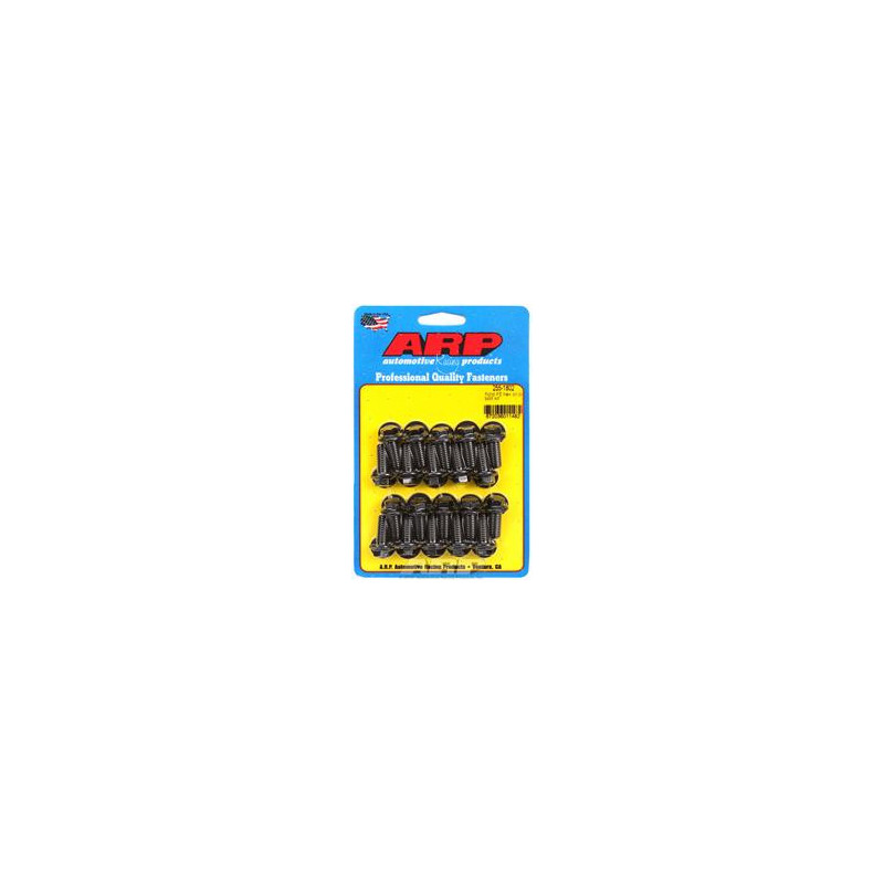 Visserie ARP pour carter d'huile noire - Ford V8 360-390-427-428