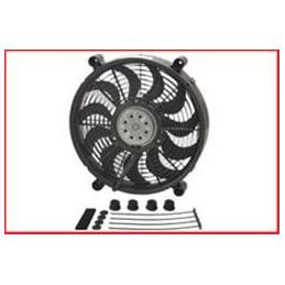 """Ventilateur électrique noir 14"""""""