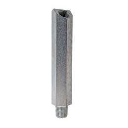 """Adaptateur pour capteur de pression d'huile - finition zinc 1/4"""""""