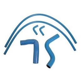 Durites de refroidissement bleues 5 PCES pour Ford SB 289/302/351W