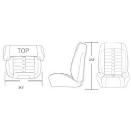 Pack sièges AV+AR Pro-Séries Sport 2 - Ford Mustang 1964 à 1965