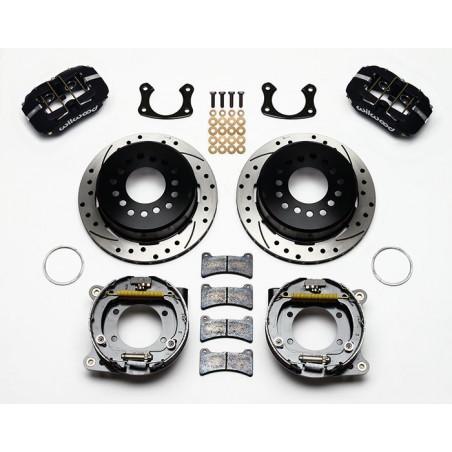 Kit de freins à disques Arrières WILWOOD Mustang 65 69 Ref 140-11403-D