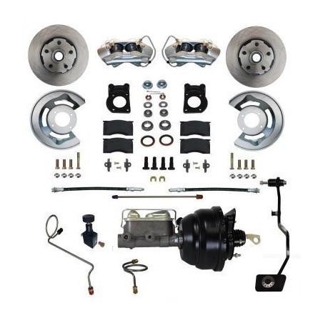 """Kit de freins à disques avec assistance 8"""" pour Ford Mustang 1967-1968-1969"""