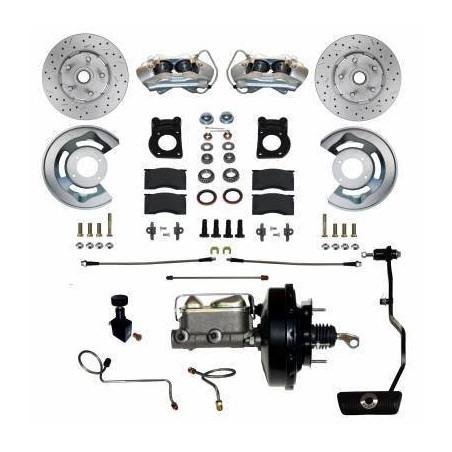 """Kit de freins à disques MAXGRIP avec assistance 9"""" pour Ford Mustang 1967-1968-1969"""