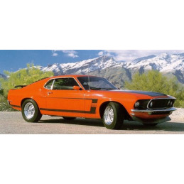 Bandes BOSS 302 - Ford Mustang 1969