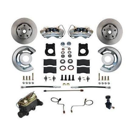 Kit de freins à disques sans assistance pour Ford Mustang 1967-1968-1969