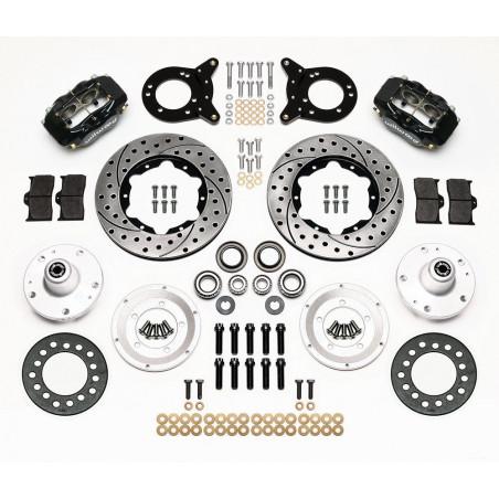Kit de freins à disques WILWOOD Mustang 65 70 - Ref 140-11071-D