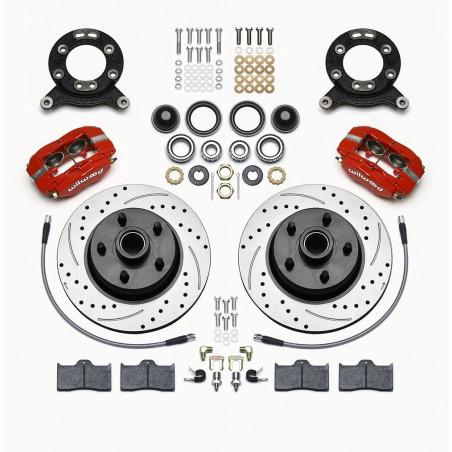 Kit de freins à disques WILWOOD Mustang 65 69 Ref 140-13476-DR