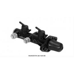 Maitre cylindre double circuit - WILWOOD 260-14243-BK