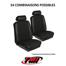 Set d'habillage de sièges AV+AR Deluxe - Ford Mustang 1969