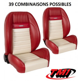 Pack sièges AV+AR Pro-Séries Sport 2 Deluxe - Ford Mustang 1964 à 1966