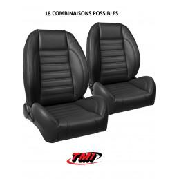 Pack sièges AV+AR Pro-Séries Sport 2 - Ford Mustang 1969