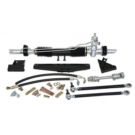 Rack and Pinion STEEROIDS Assisté - Mustang 1965 1966 - Sans colonne de direction