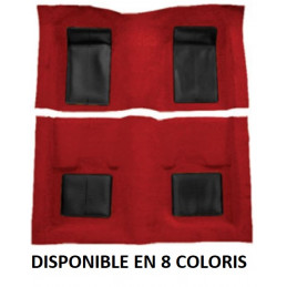 Moquette Nylon - Ford Mustang 1969 MACH 1 - Inserts noirs