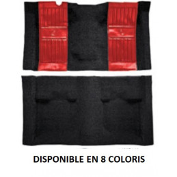 Moquette Nylon - Ford Mustang 1971 à 1973 MACH 1 - Inserts noirs
