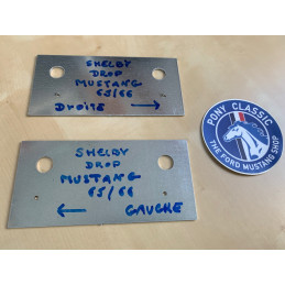 Shelby Drop Ford Mustang1965 1966 - Plaques template