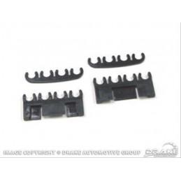 Séparateurs de câbles - noir