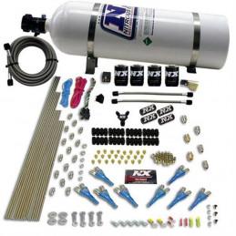 Kit NITRO - NITROUS EXPRESS - 200 à 600 hp - 15lbs