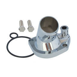 Logement de thermostat chrome Ford 289/302/351W