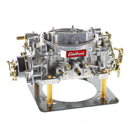 Carburateur EDELBROCK  1406 - 4 corps 600 CFM Finition Satin