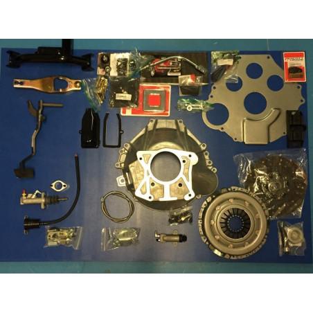 Boite TREMEC T5 - Kit de conversion C4 vers T5 - Câble