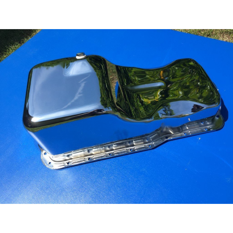 Carter d'huile FORD 260 - 289 - 302 Ci - Finition CHROME
