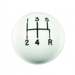 HURST Shifter knob blanc pour TREMEC T5 / TKO