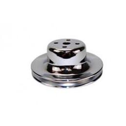 Poulie de pompe à eau 1 cran chrome HZ-9770C