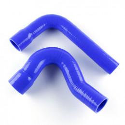 Durites radiateur FORD V8 Big Bloc silicone Blue 360/390/427/428 CI