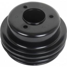 Poulie de vilebrequin Ford V8 289/302/351W 3 crans noir