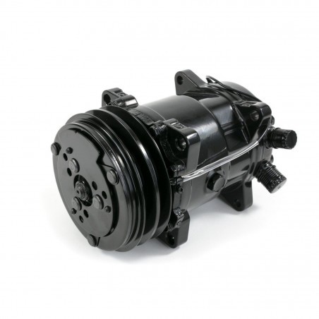 Compresseur de climatisation type SANDEN 508 - Finition noir