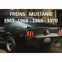 Freins MUSTANG 1967 - 1968 -1969 - 1970